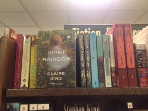 The Night Rainbow on store shelf